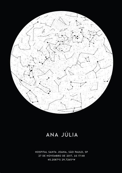 Mapa Estelar - Lunar - Elo