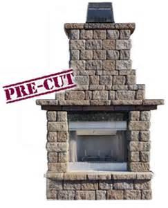 outdoor fireplace insert kit cambridge outdoor living fireplace kits