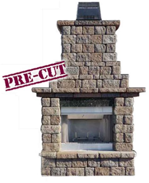 Outdoor Fireplace Insert Kit by Cambridge Outdoor Living Fireplace Kits