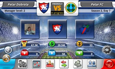game top eleven mod for android top eleven facebook game now available on android devices