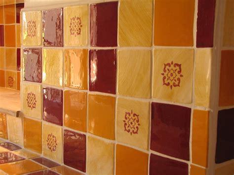 carrelage mural cuisine provencale galerie avec decoration