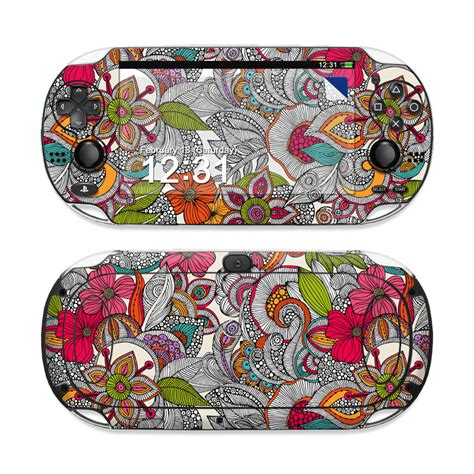 doodle ps vita doodles color sony ps vita skin covers sony playstation