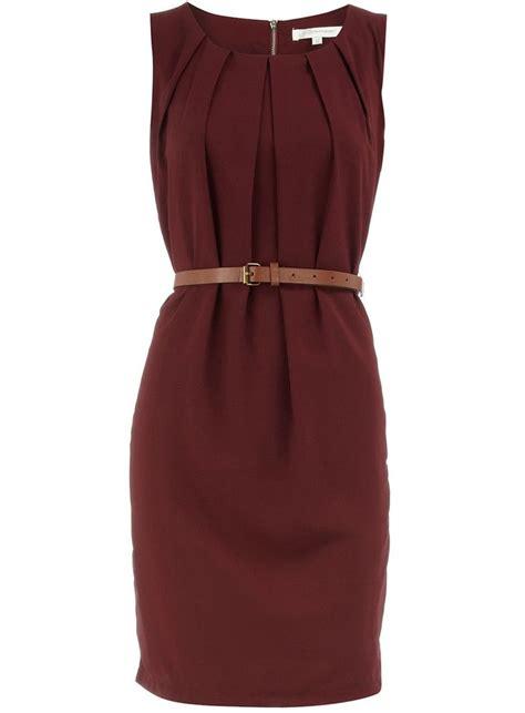 Pevita Dress Maroon Belt maroon dress with vintage belt ootd engagement photos and black belt