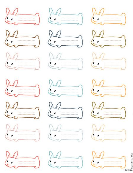 calligraphy ribbon banner labels printables pinterest printable bunny tags could probably use to wind ribbon