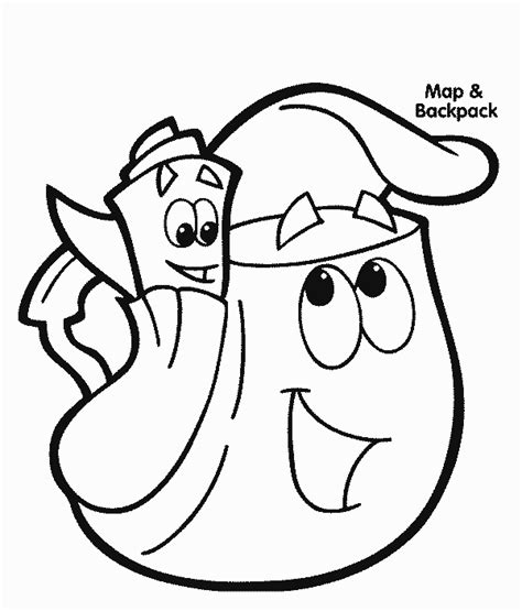 dora the explorer coloring pages nick jr dora coloring pages coloringpagesabc com