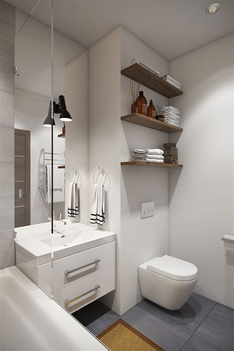 Modern Small Bathroom Storage Studios With Subtle Stylish Accents