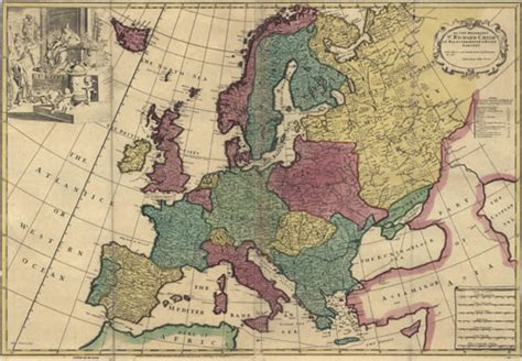 map us during 1700s historical map of europe 1700 s