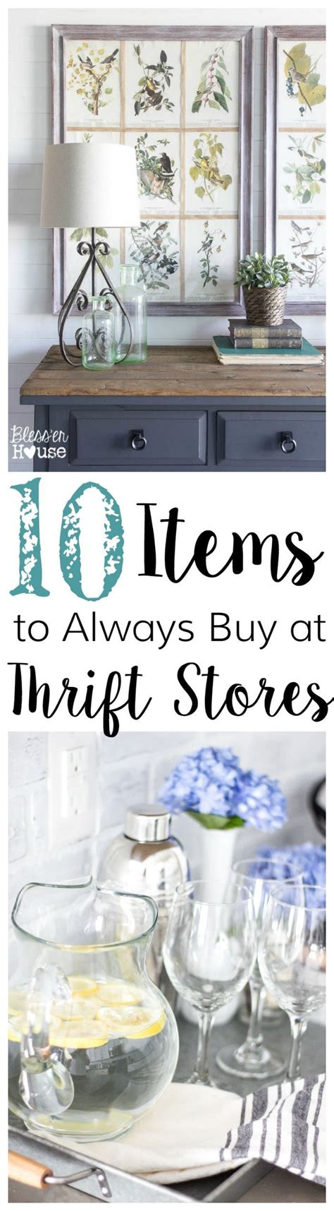 Where To Buy Inexpensive Home Decor 10 items to always buy at thrift stores inexpensive home