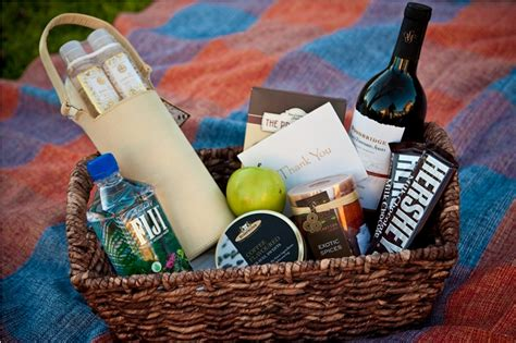 welcome baskets for wedding guests welcome bags for wedding guests at your side planning