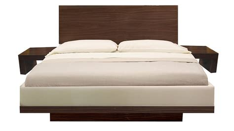 Headboard With Attached Nightstands by Plush Home Mondrian Bed Nightstands And Headboard With