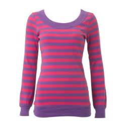 purple pink sueded stripe top tops just arrived