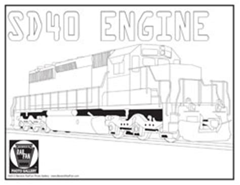 the gallery for gt diesel locomotive coloring pages