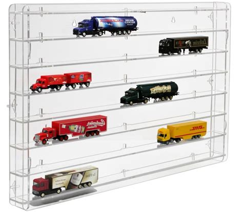 model truck display cabinet scale 1 87 model cars