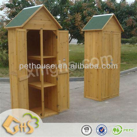 armadi da giardino in legno da giardino in legno armadio attrezzi da giardino id