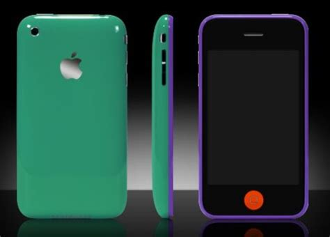 Colorware Spruces Up The Iphone by Colorware Outs Custom Colors For The Apple Iphone 3gs
