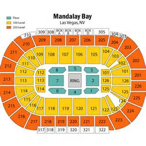 Pics photos mandalay bay events center seating chart