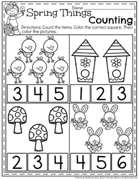 spring pattern worksheets for kindergarten spring preschool worksheets planning playtime