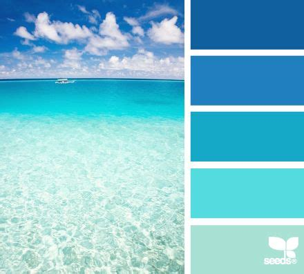 ocean blue paint create a mental vacation with colors inspired by the sea