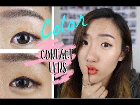 colored contacts for before and after korean color contact lenses review circle lense before and