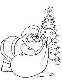 Dibujos de navidad para colorear y pintar 174 dibujos de papa noel