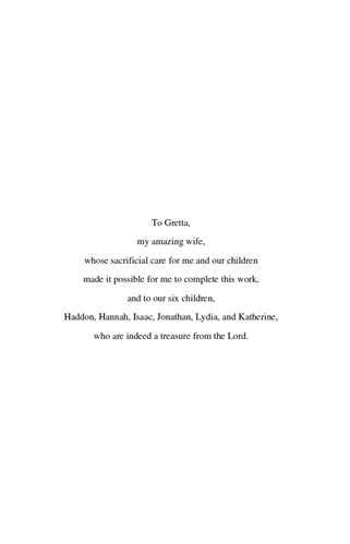 thesis acknowledgement wife the thesis in full here s a screenshot of the dedication