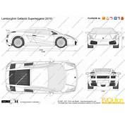 The Blueprintscom  Vector Drawing Lamborghini Gallardo