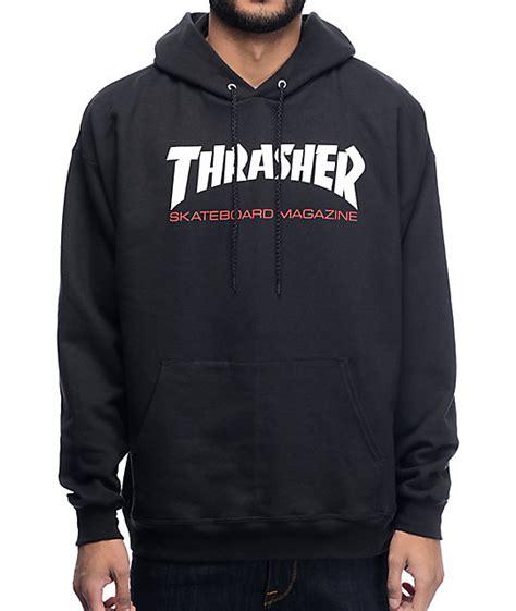 Thrasher Hoodie Black thrasher two tone black hoodie at zumiez pdp