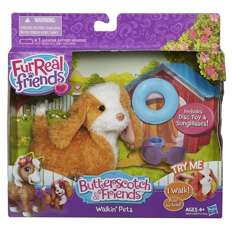 furreal friends walking furreal friends butterscotch and friends walking pets maple sugar spaniel pet 58