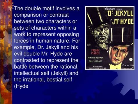 common themes in jekyll and hyde ppt elements of romanticism powerpoint presentation id