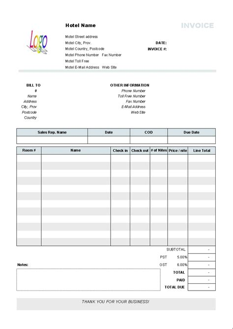 fake invoice template invoice template ideas