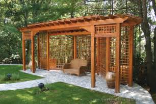 Porch Or Patio Difference Trellis Structures