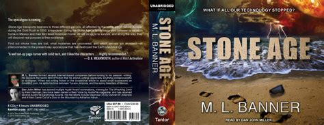 Audiobook Giveaway - stone age audio giveaway ml banner author of apocalyptic thrillers