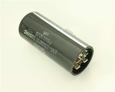 motor start capacitor mallory psu13025 mallory capacitor 130uf 125v application motor
