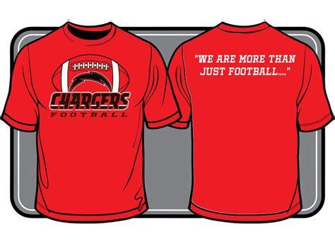 chargers football team t shirt design t shirt designs