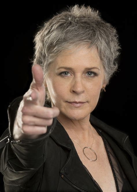 haircut of carol from the walking dead melissa mcbride photographed for la times the walking