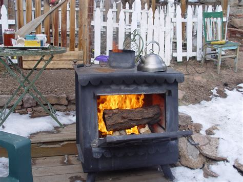 backyard wood stove stoves outdoor stove
