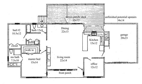 floor plan of the house house plans new construction home floor plan