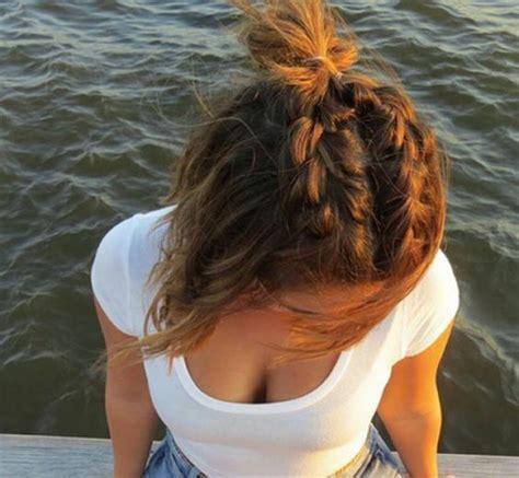 scottish plaited que hair la moda en tu cabello cortes de pelo mediano con trenzas