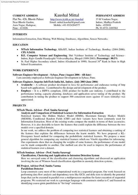 latex resume template academic free sles exles