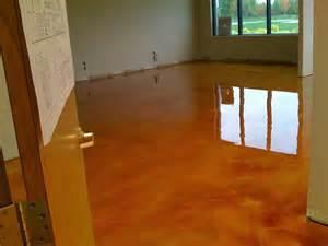 reflector enhancer metallic epoxy floor over concrete