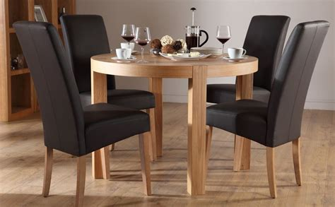 Circular Dining Table For 4 Dining Table Set For 4 Homesfeed