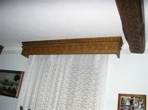 mantovane per tende in legno mantovane di legno pannelli termoisolanti