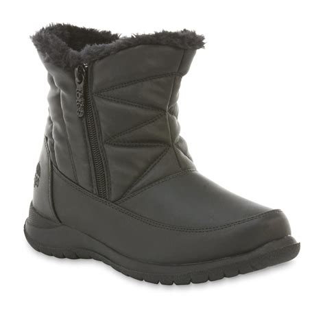 s totes snow boots totes s silverton black snow boot