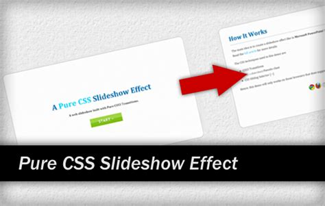 tutorial css slideshow pure css slideshow effect for presentation