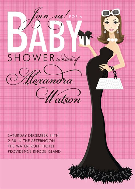 Create A Baby Shower Invitation by Pink Baby Shower Invitations Theruntime