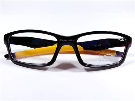 Kacamata Okley Polaris Pria Gaul frame kacamata oakley crosslink black yellow 1066 kmp ok1066bor distrokacamata belanja
