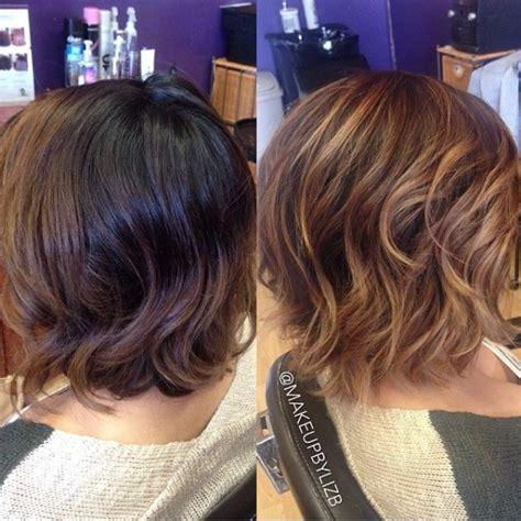 balayage short hairstyles short haircuts balayage hair gorgeous balayage for short hair