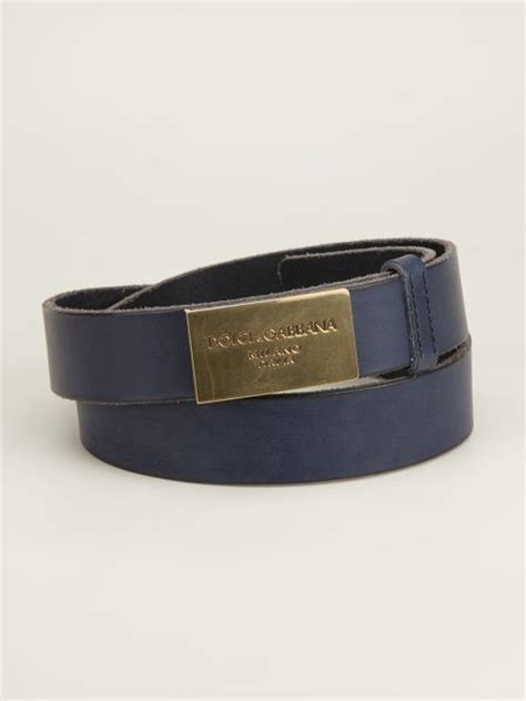Dolce Gabbana Dolce And Gabbana Large Buckle Basket Weave Canvas Tote by Dolce Gabbana Logo Buckle Belt In Blue For Lyst
