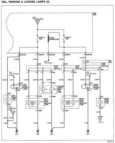 2005 hyundai sonata wiring diagram turn signals wiring