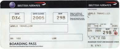 air ticket template object collection jason dunn